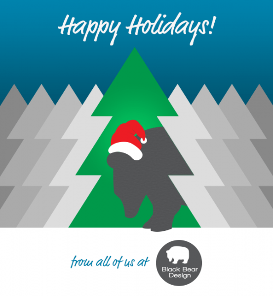 Happy Holidays From Black Bear Design