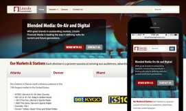 Media Company Website atlanta web design