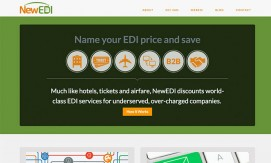 NewEDI Responsive Website atlanta web design