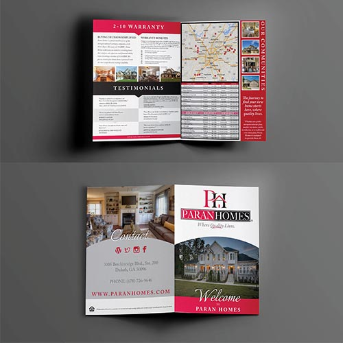 Real Estate Corporate Brochure atlanta web design