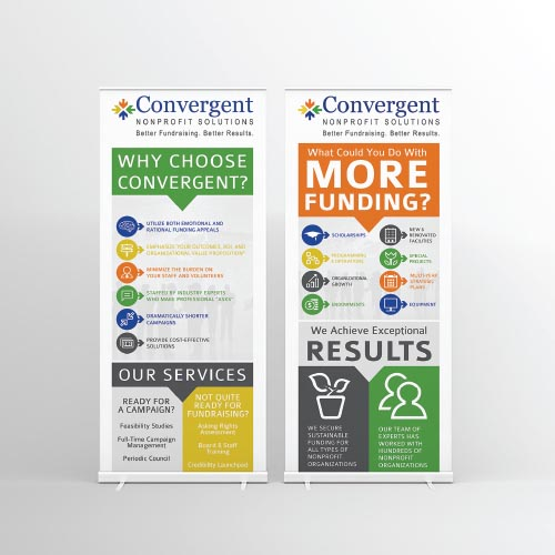 Display Banner Design for Non-Profit atlanta web design