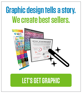 Graphic design tells a story. We create best sellers.