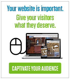 Your website is important. Give your visitors what they deserve.