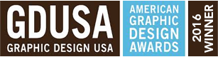 GDUSA - Graphic Design USA 2016 Award Winner