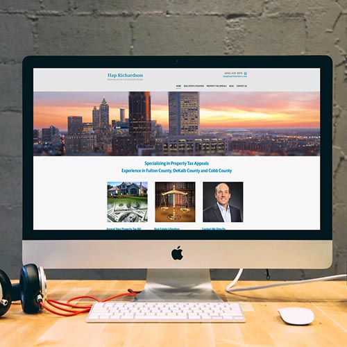 Attorney Website Design atlanta web design