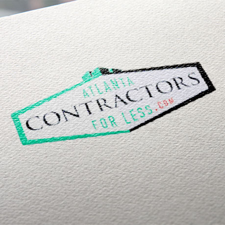 General Contractor Logo Design atlanta web design