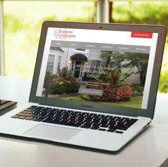 Landscaping Company Website Design atlanta web design