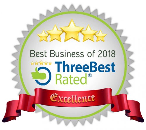 ThreeBest Rated - Best Business of 2018