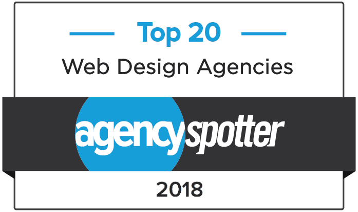 2018 Top 20 Web Design Agencies - Agency Spotter